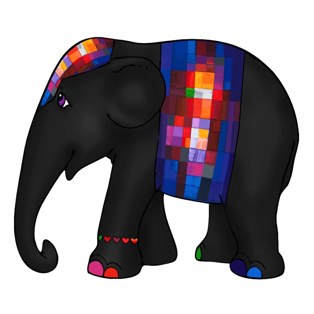 """Mini olifant """"samenspel"""" te koop"""