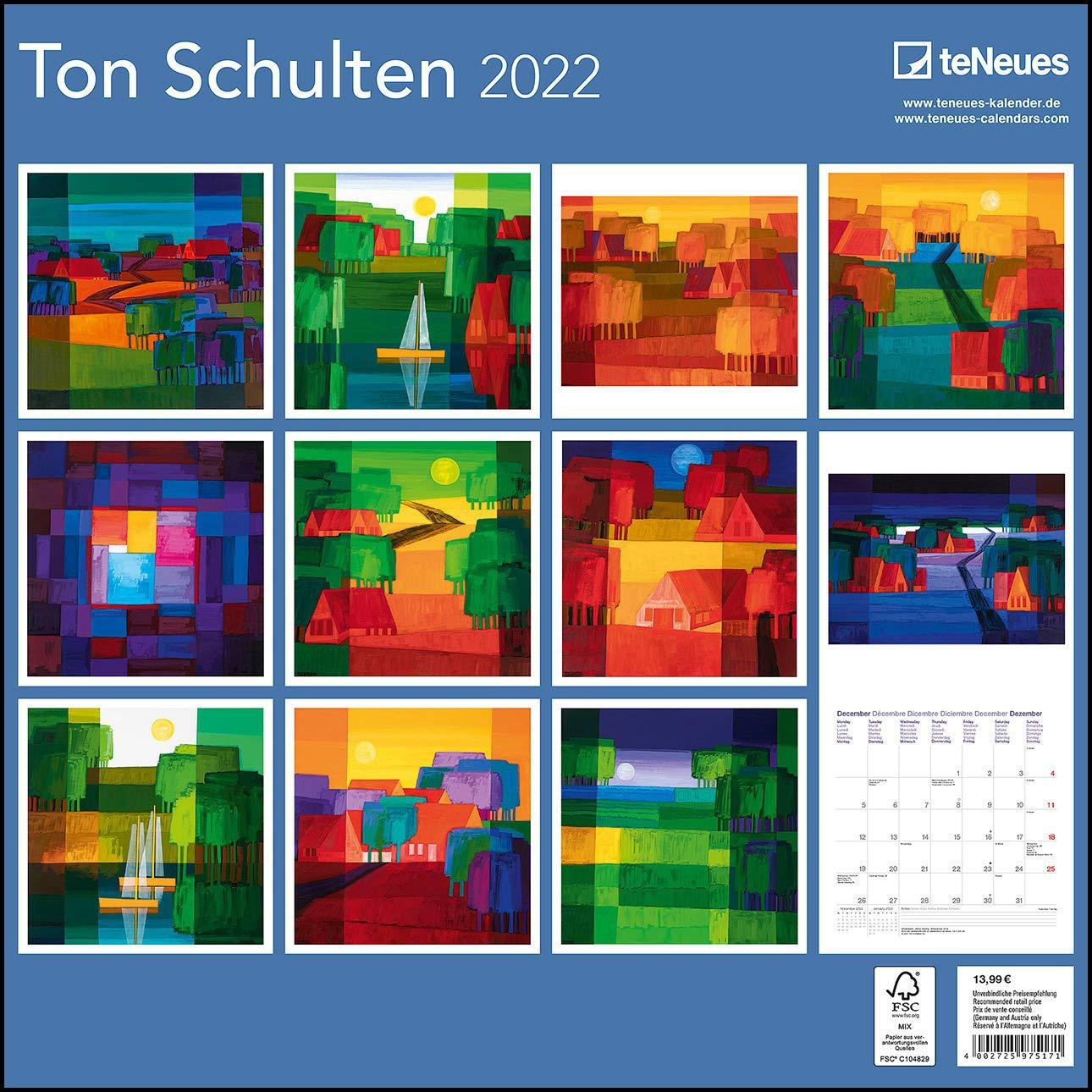 Kalenders 2022 en agenda 2022